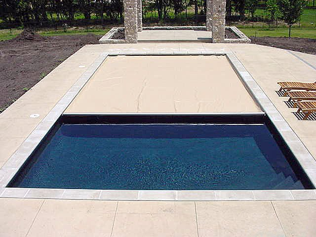 Safety covers for your pool red square pools